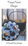 A Painted Pea Basket