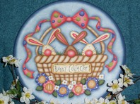 CC161 Bunny Collector Plate