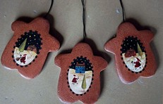 Home Baked Ginger Cookie Ornaments