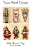 Jolly christmas tags